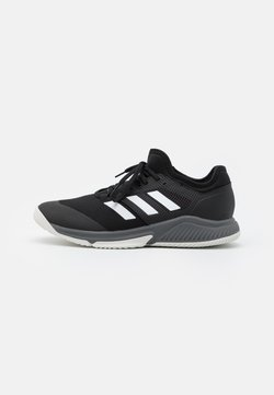 adidas Performance - COURT TEAM BOUNCE INDOOR SHOES - Indoorskor - core black/footwear white/grey four