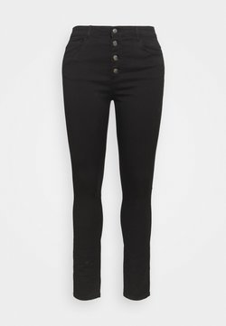 ONLY Carmakoma - CARAUGUSTA BUTTON - Jeans Skinny - black