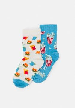 Happy Socks - KIDS POPCORN HAMBURGER SOCK UNISEX - Calcetines - multicolor