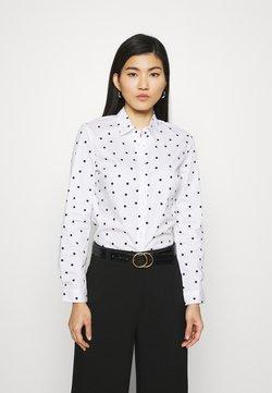 Marks & Spencer London - SPOT FITTED - Skjorta - offwhite