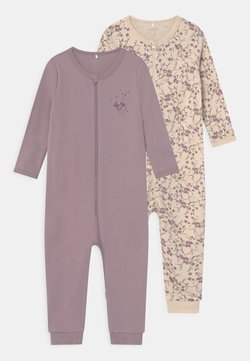 Name it - NBFNIGHTSUIT ZIP NIRVANA FLOWER 2 PACK - Pyjama - nirvana
