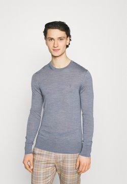 AllSaints - MODE CREW - Pullover - twilight blue marl