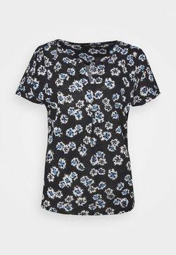Marc O'Polo - SHORT SLEEVE PLACKET - T-Shirt print - multi