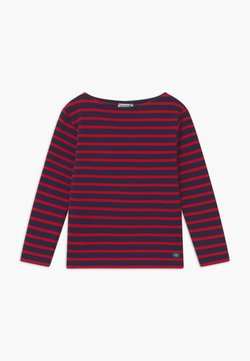 Armor lux - LOCTUDY MARINIÈRE - T-shirt à manches longues - blue/red