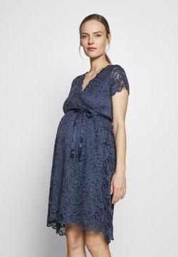 MAMALICIOUS - MLMIVANE TESS DRESS - Cocktailkjoler / festkjoler - blue indigo