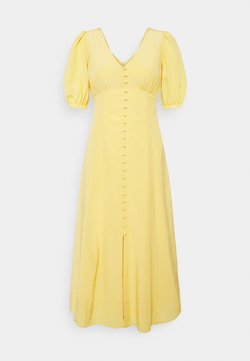 Forever New Petite - BELLE PETITE PUFF SLEEVE MIDI DRESS - Vestito elegante - soft mango