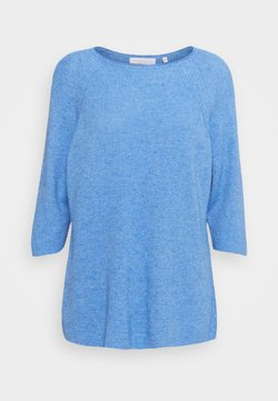 Rich & Royal - CREW NECK  - Sweter - sky blue