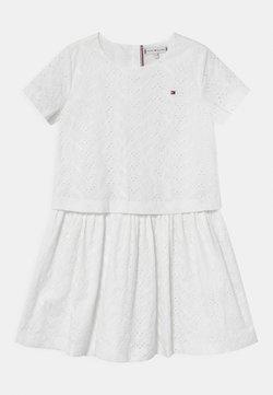 Tommy Hilfiger - BRODERIE ANGLAISE - Cocktailkleid/festliches Kleid - white
