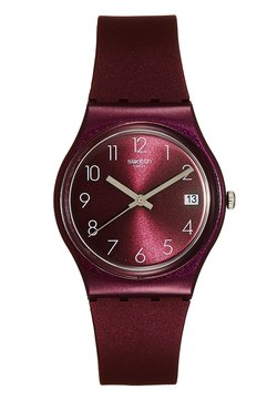 Swatch - REDBAYA - Montre - bordeaux