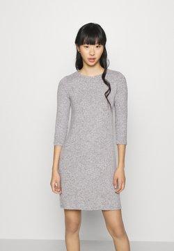 Vero Moda - VMTAMMI ZIP DRESS - Shift dress - light grey melange