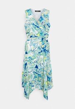 Lauren Ralph Lauren - VINZY CASUAL DRESS - Freizeitkleid - blue multi
