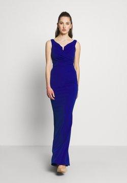 WAL G. - OFF THE SHOULDER DRESS - Suknia balowa - cobalt blue