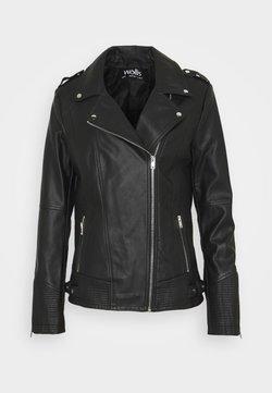 Wallis - DARCEY BIKER - Leather jacket - black