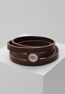 Royal RepubliQ - SPIRAL BRACELET - Bransoletka - brown