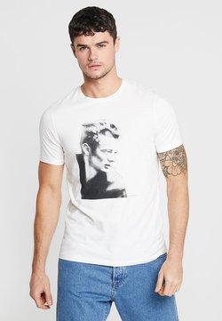 Jack & Jones - JORICONS TEE CREW NECK - T-Shirt print - cloud dancer