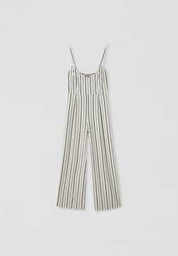 PULL&BEAR - Overall / Jumpsuit - white