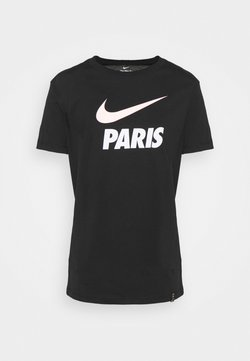 Nike Performance - PARIS ST GERMAIN CLUB TEE - Pelipaita - black