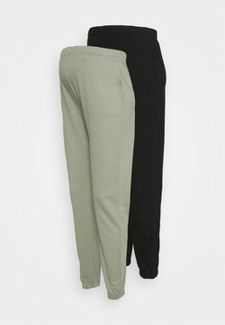ONLY - ONLDREAMER LIFE PANT 2 PACK - Träningsbyxor - shadow