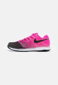 Nike Performance - NIKECOURT AIR ZOOM VAPOR X - Scarpe da tennis per tutte le superfici - laser fuchsia/black/white