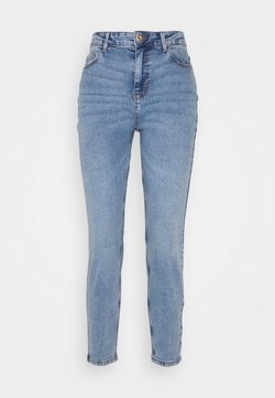 Pieces Petite - PCKESIA MOM - Jeans Slim Fit - light blue denim
