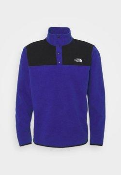 The North Face - GLACIER SNAP NECK - Fleece jumper - bolt blue/black