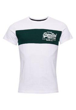 Superdry - VINTAGE  - T-shirt imprimé - optic