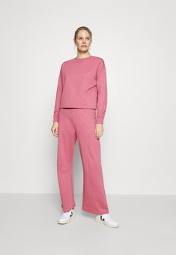 Anna Field - TRACKSUIT SET JOGGERS AND SWEATSHIRT - Trainingsanzug - pink
