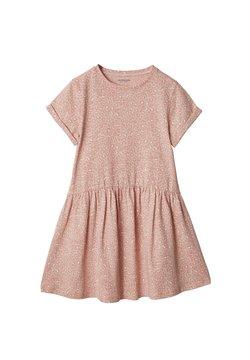 Vertbaudet - Jerseykleid - rosa leoprint