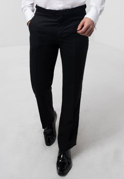 dobell - Anzughose - black