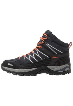 CMP - RIGEL MID TREKKING SHOES WP - Hikingschuh - antracite/flash orange
