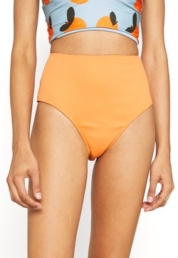 We Are We Wear - TIA REVERSIBLE HIGH WAIST PANT - Bikinialaosa - salmon/rust