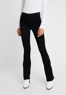 ONLY - ROYAL HIGH SWEET - Bootcut jeans - black