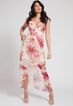 Guess - LANGES ALLOVER - Maxikleid - rot merf