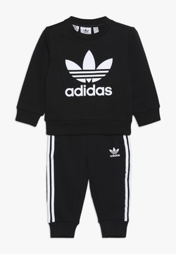 adidas Originals - CREW SET UNISEX - Survêtement - black/white