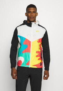 Nike Performance - WINDRUNNER ART - Laufjacke - sail/black/university gold