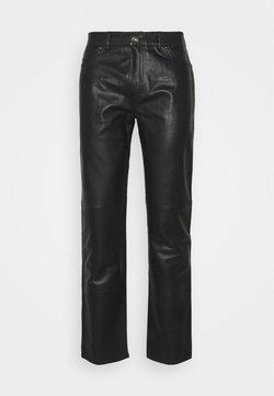 Serge Pariente - Pantalon en cuir - black