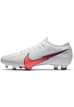Nike Performance - MERCURIAL VAPOR  - Scarpe da calcetto con tacchetti - white / flash crimson / photon dust