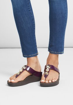 FitFlop - FINO - Zehentrenner - pickled beet