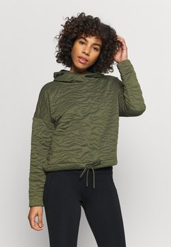 GAP - HOODIE - Jersey con capucha - ripe olive