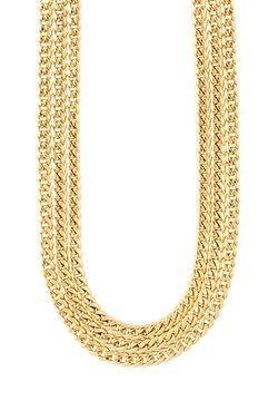 Pilgrim - Halsband - gold plated