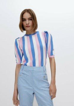 Uterqüe - T-Shirt print - pink