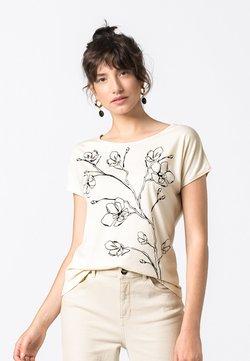 HALLHUBER - T-Shirt print - creme
