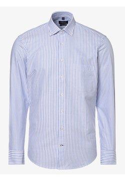 Andrew James - Hemd - hellblau weiß