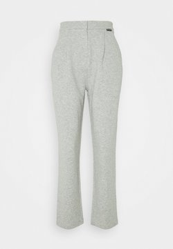 KARL LAGERFELD - TAILORED TROUSERS - Jogginghose - grey melang