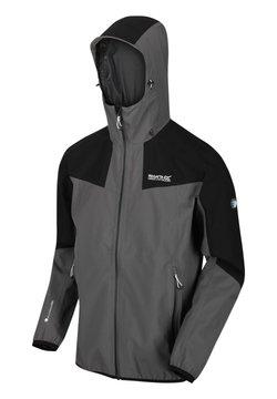 Regatta - Regenjacke / wasserabweisende Jacke - magnet / black