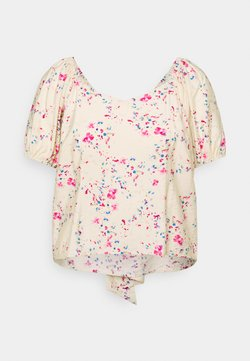 Vero Moda Curve - VMMILA - T-Shirt print - birch/mila