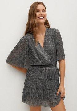 Mango - ASTAIRE - Cocktailkleid/festliches Kleid - sølv