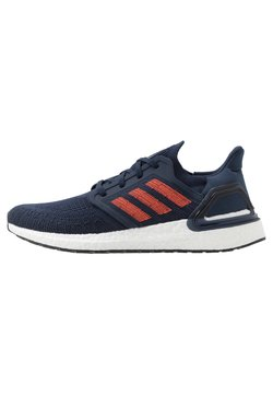 adidas Performance - ULTRABOOST 20 PRIMEKNIT RUNNING SHOES - Laufschuh Neutral - collegiate navy/solar red/royal blue