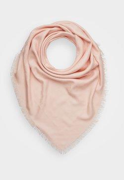 Tory Burch - LOGO TRAVELER SCARF - Huivi - sea shell pink