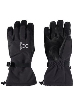 Haglöfs - NIVA GLOVE - Fingerhandschuh - true black/slate